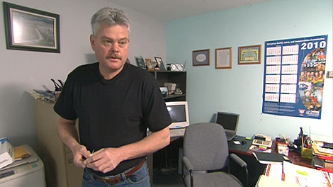 Eli Humby's business assets were seized in 2005 on behalf of the CRA.