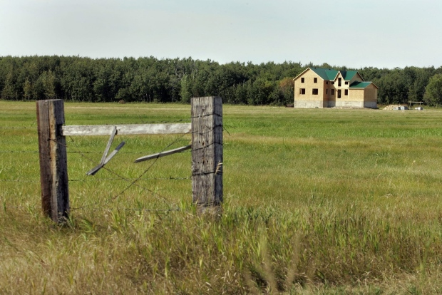 Aug. 30, 2006 file photo of Plumas, Manitoba.