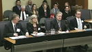 A committee hearing into two cancelled gas plants at Queen's Park Tuesday, March 19, 2013.