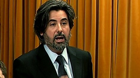 Pablo Rodriguez, MP for Honore-Mercier, speaks during question period Monday, Feb. 7, 2011.