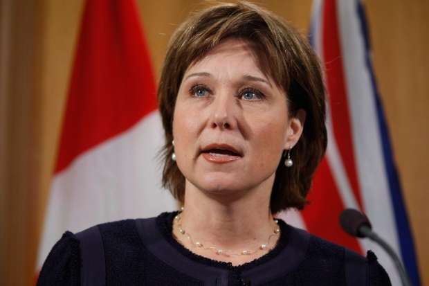 Christy Clark speaks on ethnic vote report
