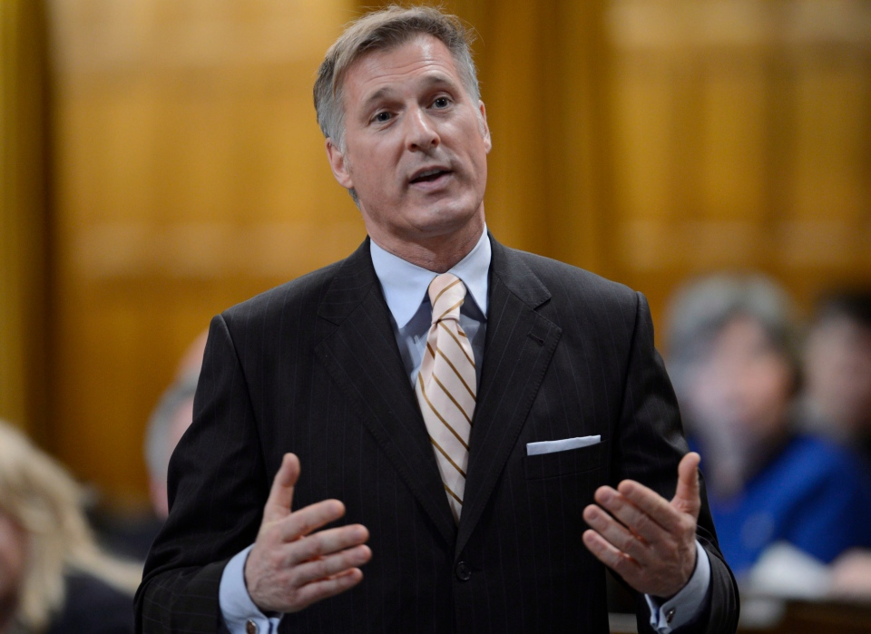 Conservative MP Maxime Bernier rises during question period in the House of Commons on Parliament Hill in Ottawa, Wednesday, Dec. 5, 2012. (Adrian Wyld / THE CANADIAN PRESS)