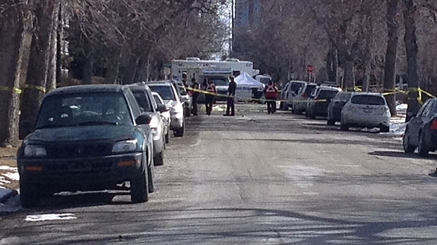 Police continue to investigate the death of a woman in Sunalta on Wednesday morning.