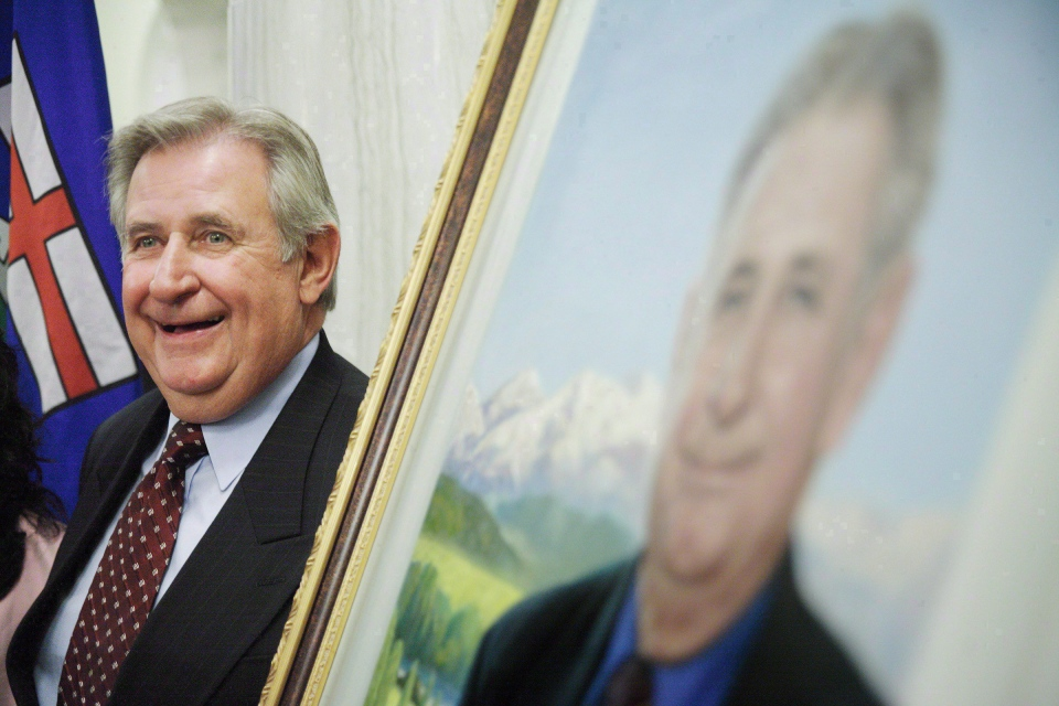 Former Alberta premier Ralph Klein in Edmonton on August 30, 2007.  (John Ulan / THE CANADIAN PRESS)