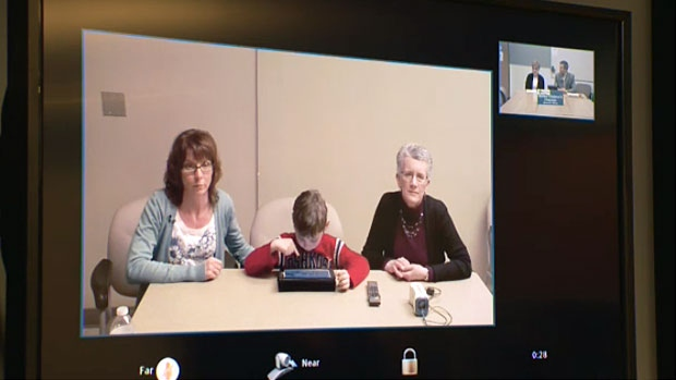 The Bigoraj family lives in Red Deer and says the use of Telehealth videoconferencing technology has made medical check-ups easier and more convenient.