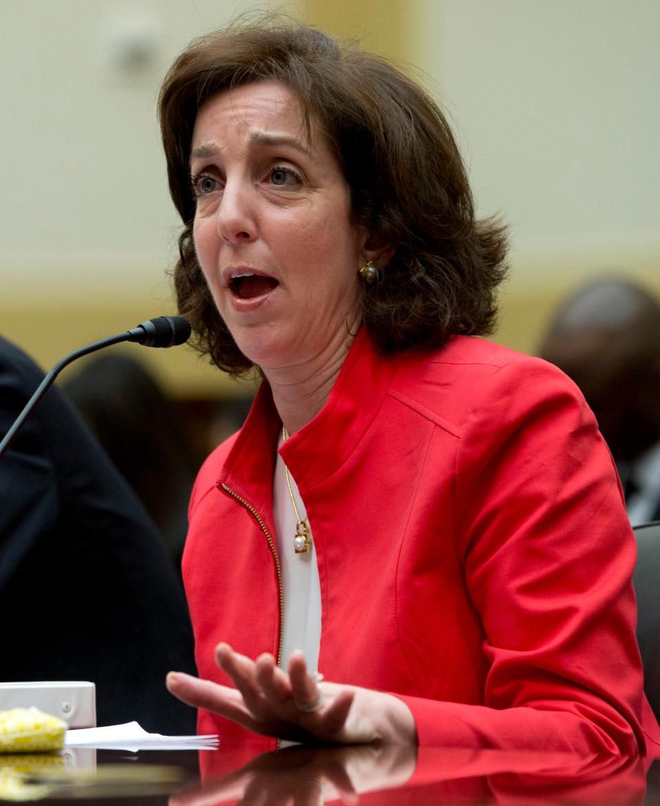 Roberta Jacobson, Assistant Secretary of State of the Bureau of Western Hemisphere Affairs, testifies on Capitol Hill in Washington, Thursday, Feb. 28, 2013. (AP / Carolyn Kaster)