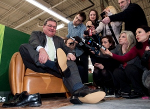 Jim Flaherty, budget, new shoes