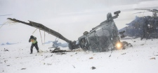 Two helicopters crash in Berlin