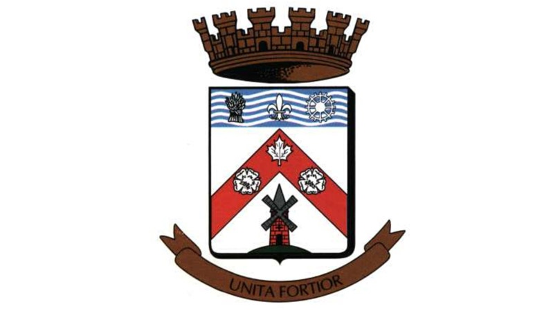 Chateauguay town crest