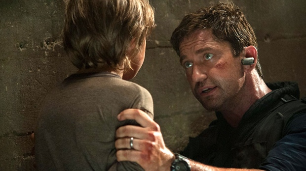Gerard Butler in a scene from VVS Films' 'Olympus Has Fallen'