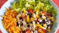 Black Bean Barley Salad