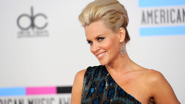 Jenny McCarthy arrives at the 38th Annual American Music Awards on Sunday, Nov. 21, 2010 in Los Angeles. (AP / Chris Pizzello)