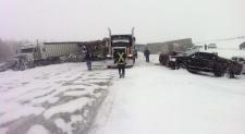 Edmonton multi-vehicle crash