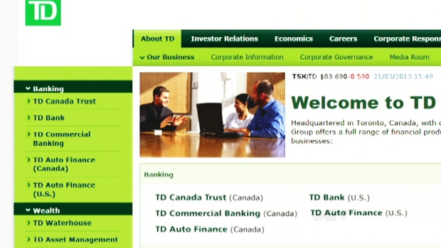 TD Bank hit by 'targeted' hack attack that knocked out online