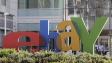 An exterior view of eBay offices in San Jose, Calif., is seen Wednesday, Jan. 19, 2011. (AP Photo/Paul Sakuma)