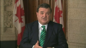 Finance Minister Jim Flaherty speaks to CTV's Canada AM Friday, March 22, 2013.