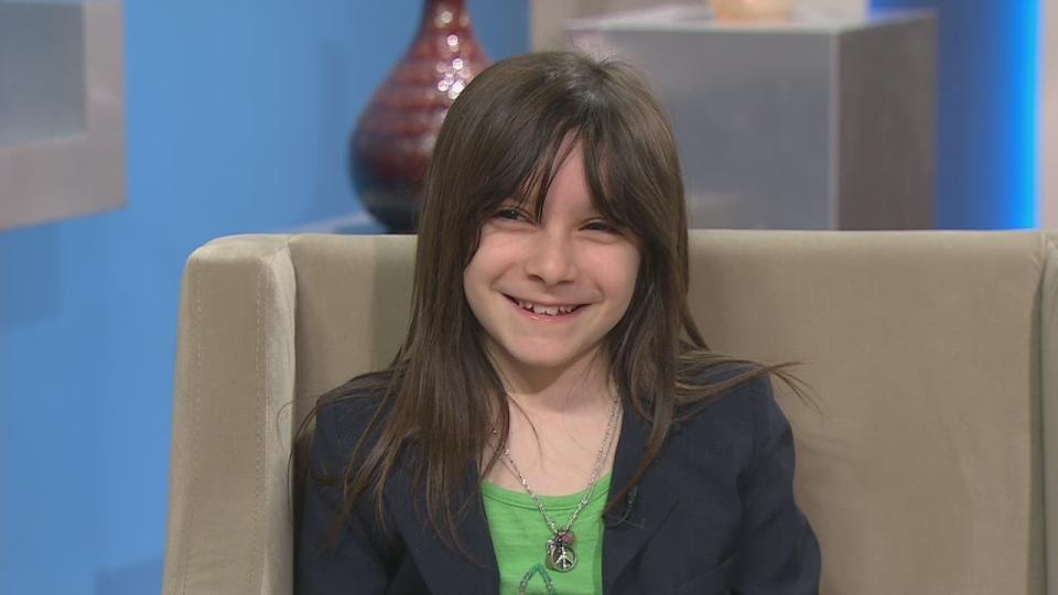 Eco-blogger Hannah Alper on CTV's Canada AM on March 22, 2013.