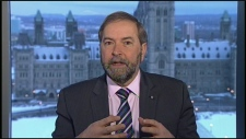 Mulcair budget 2013 impact job creation