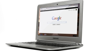 This undated photo provided by Google shows the Chromebook. (Google)