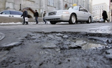 Potholes for Montreal