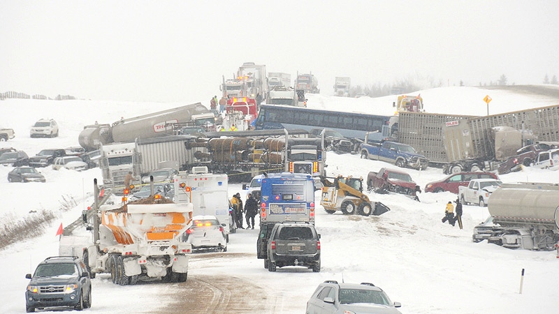 Massive QE2 collision not the largest in province's history