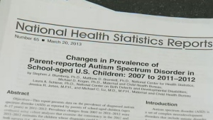 Centers for Disease Control and Prevention Autism