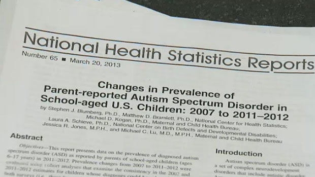 New statistics released this week by the U.S. Centers for Disease Control and Prevention suggest autism rates are more prevalent than originally thought - with one in 50 children believed to be living with the disorder as opposed to the older figure of one in 88.