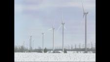 Wind turbines, wind energy