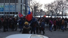 Student protest Montreal