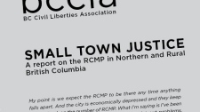 A new B.C. Civil Liberties Association report examines policing in northern and rural B.C. Feb. 9, 2011.