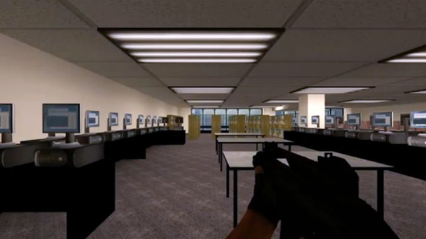 Screen shot of 'Counter Strike' video game