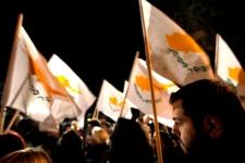 Protesters in Nicosia, Cyprus, March 22, 2013.