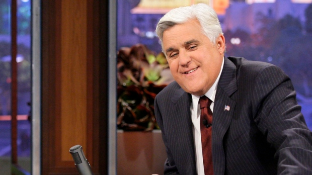 Jay Leno pokes fun of NBC bosses