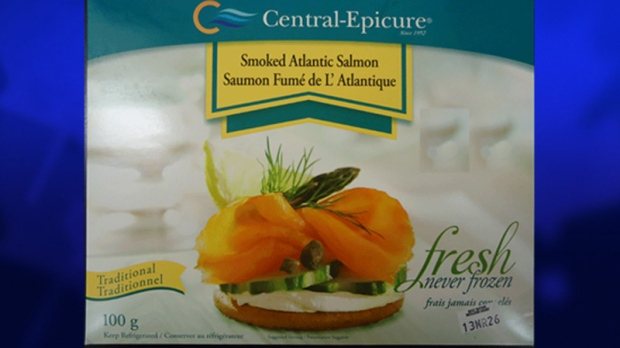 Smoked Atlantic Salmon recalled by CFIA