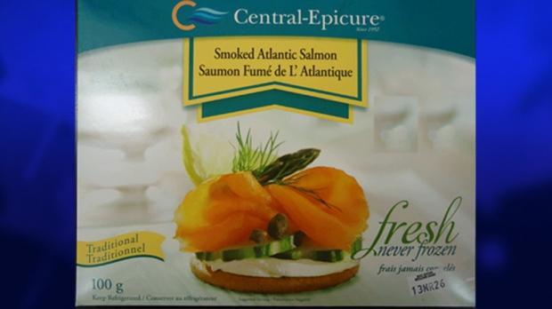Smoked Atlantic Salmon recalled by CFIA