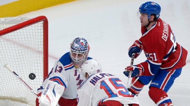 Montreal Canadiens claim Jeff Halpern