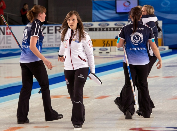 Canadian curling team loses to Scotland
