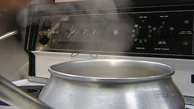 Boil water order issued in Saint John