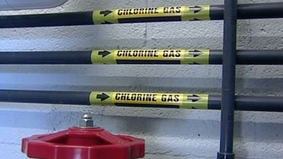 The problem started when a chlorination unit failed in Saint John, N.B. on Friday, March 22, 2013.