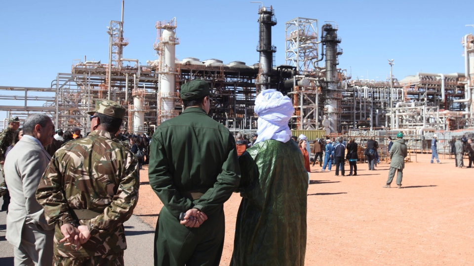 The Algerian gas plant attacked by militants will soon be partially operational,  announced its director during a tour on the site for local and international media. (AP)