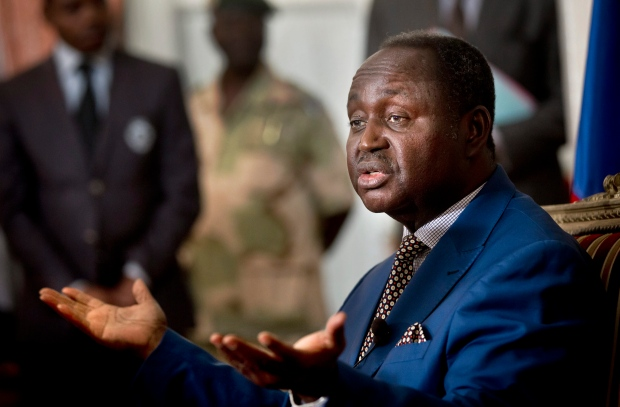 Central African Republic President flees
