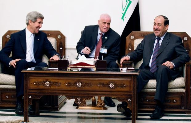 U.S. Secretary of State John Kerry in Iraq