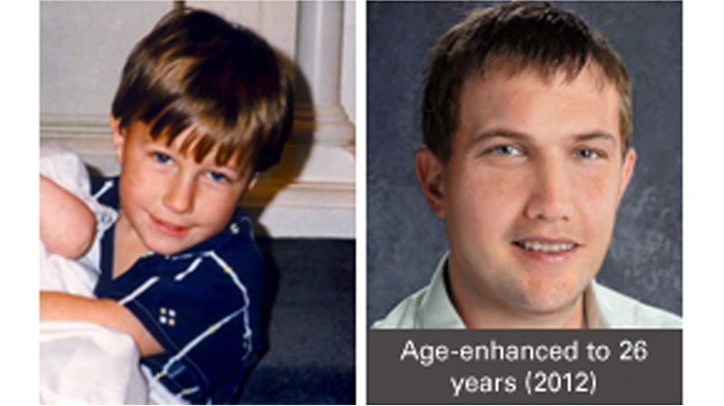 An image of Michael Dunahee, who disappeared from a Victoria, B.C. playground in 1991, shows what he could look like today. (Courtesy MichaelDunahee.ca)