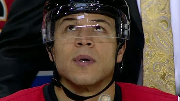 ce2a2a83b1e Jarome Iginla returns to Saddledome to announce retirement from NHL ...