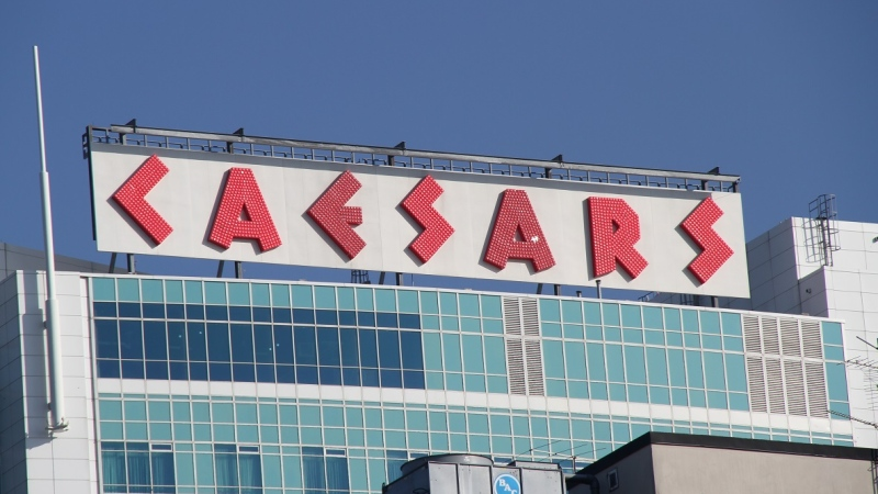 Caesars Windsor is shown in this file photo in Windsor, Ont., on Nov. 16, 2012. (Melanie Borrelli / CTV Windsor)