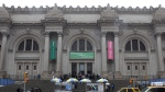 The exterior of the Metropolitan Museum of Art in New York is shown on March 19, 2013. (AP Photo/Mary Altaffer)