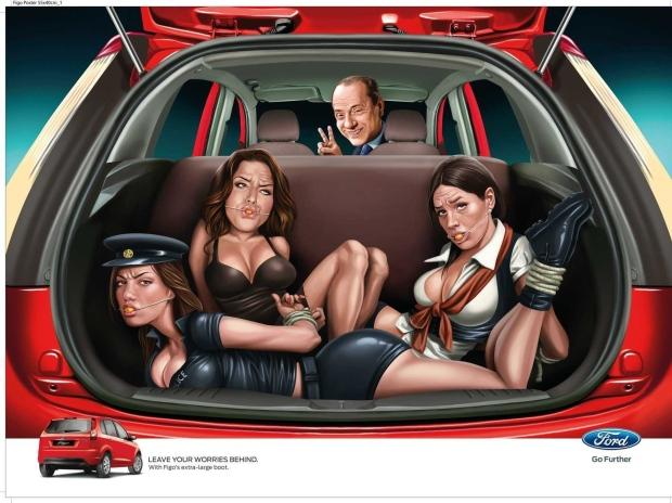 Ford Berlusconi ad