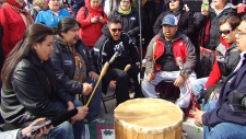 Journey of Nishiyuu arrive in Ottawa