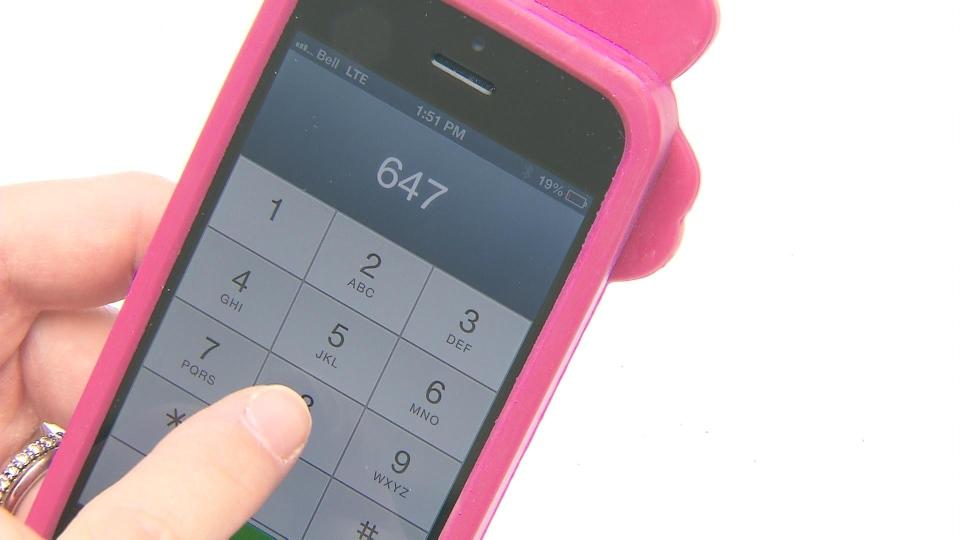 Cellphone file photo