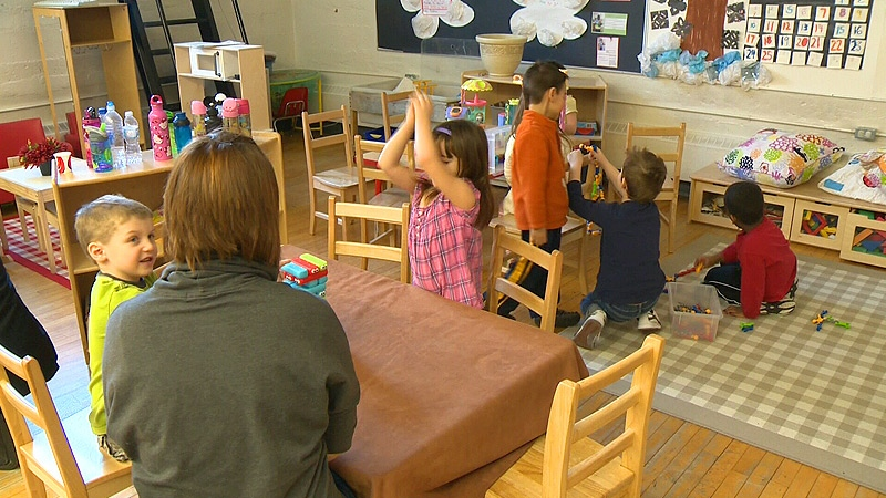 Children play at a daycare in this file photo.